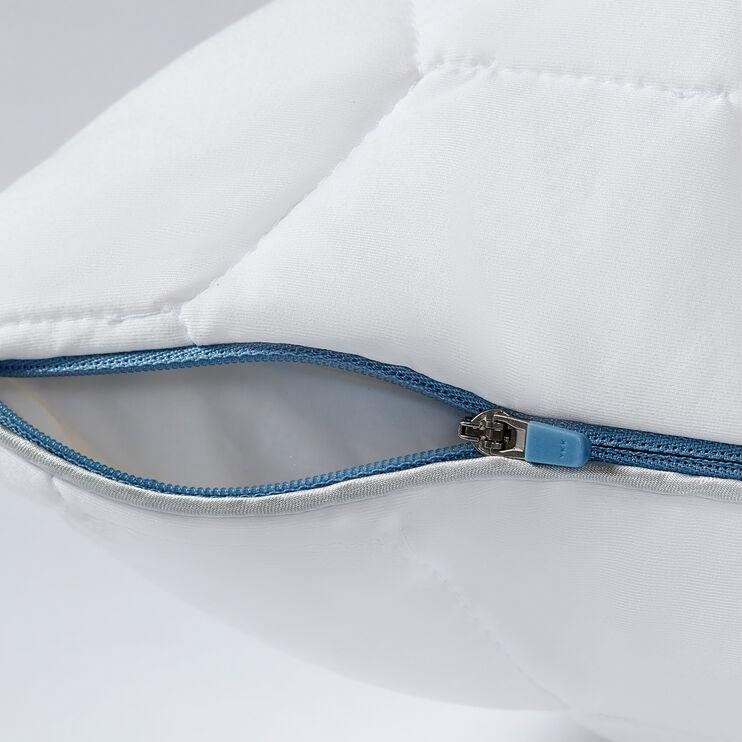 SHEEX Aero Fit Bright White Queen Back Sleeper Pillow