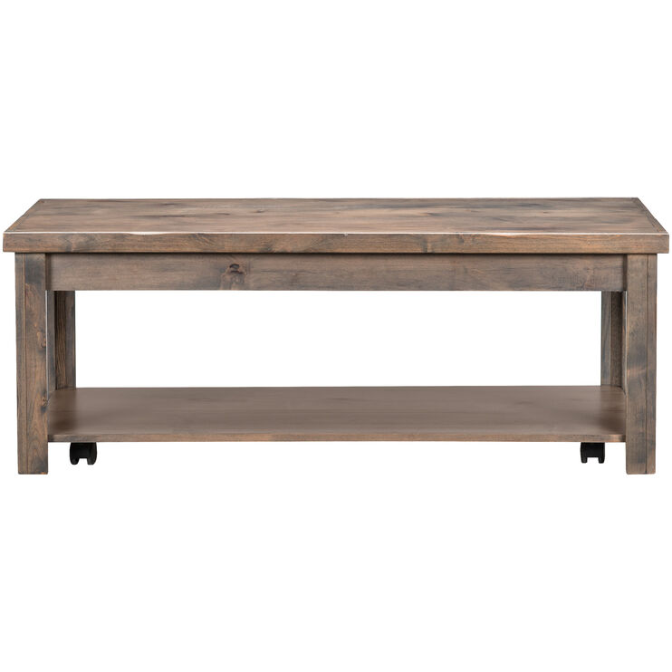 Joshua Creek Barnwood Castered Coffee Table