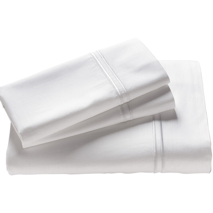 Elements White Queen Bamboo Pillowcase