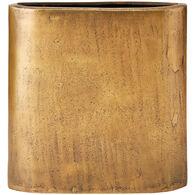 Ink Ivy Large Henley Brass Vase