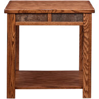 Evanston Rustic End Table