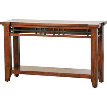 Whistler Retreat Dark Chestnut Sofa Table