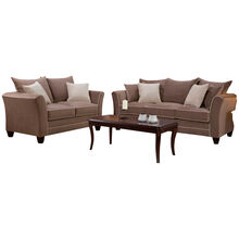 Merrick 2 Piece Mocha Sofa and Loveseat