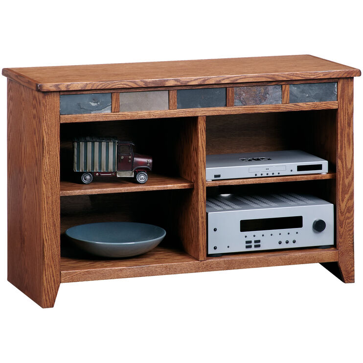 Evanston Antique Oak 44 Inch Console