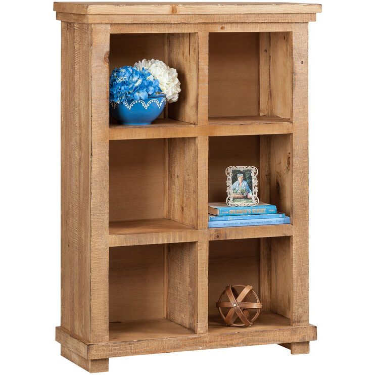 Willow 48in Pine Bookcase