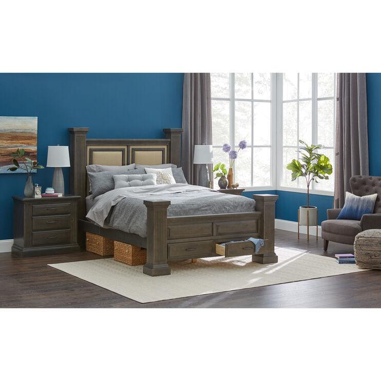 Fordham Ash Queen Storage Bed