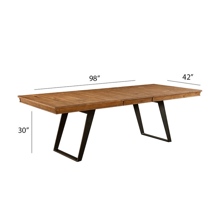Nantucket Cashew Dining Table