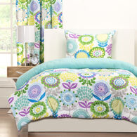Crayola Pointillist Pansy 2 Piece Twin Comforter Set