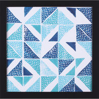 Beryl Block Print IV Framed Canvas