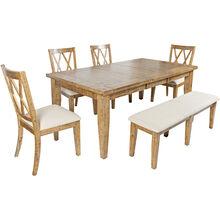 Telluride Honey 5 Piece Dining Set