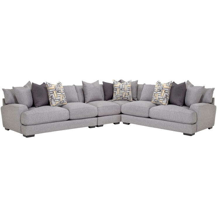 Wake Ash 4 Piece Sectional