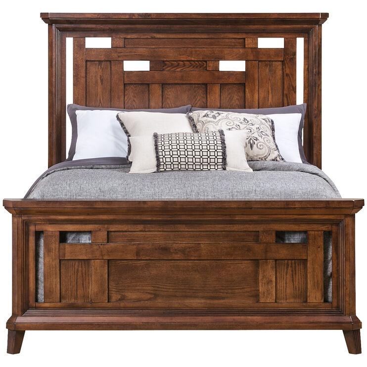 Acorn Hill Brown Queen Bed