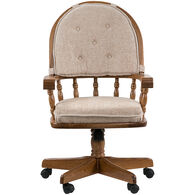 Jefferson Curved Arm Game Chair