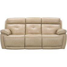 Rhodes Tan Power Plus Reclining Sofa