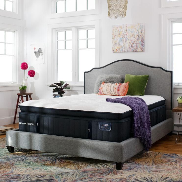 Cassatt Luxury Ultra Plush European Pillow Top King Mattress