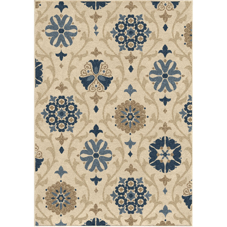 Four Seasons Chico Ivory 8 x 11 Rug