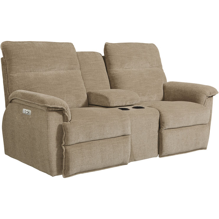 Jay Tan Power Console Loveseat