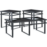 Laney Glass Set of 3 Tables