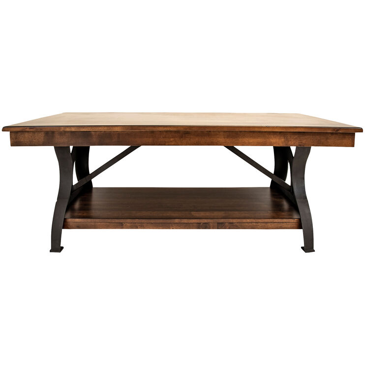 District Cool Copper Coffee Table