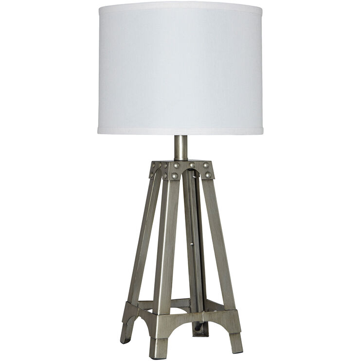 Arty Metal Accent Lamp
