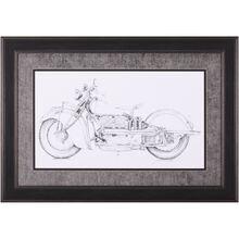 Motorcycle Motorcycle Sketch II
