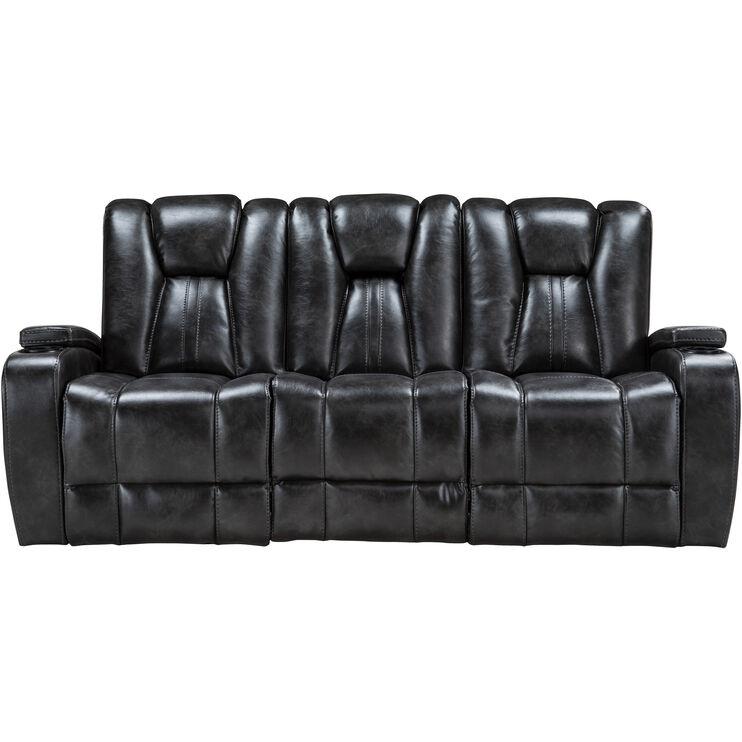 Boulder Slate Power Sofa