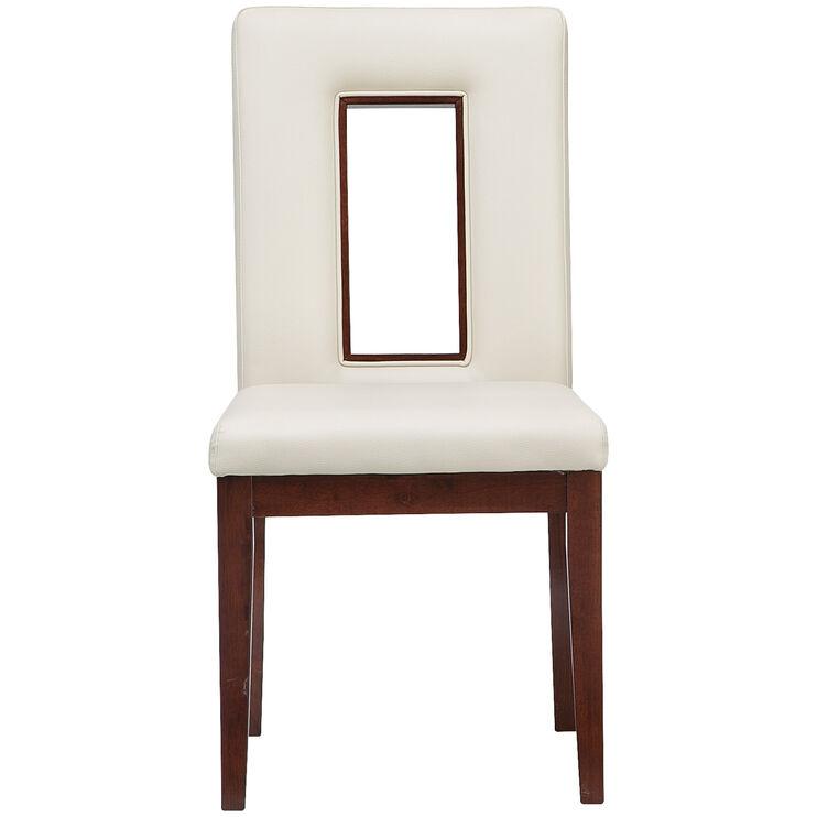 Enzo White Side Chair