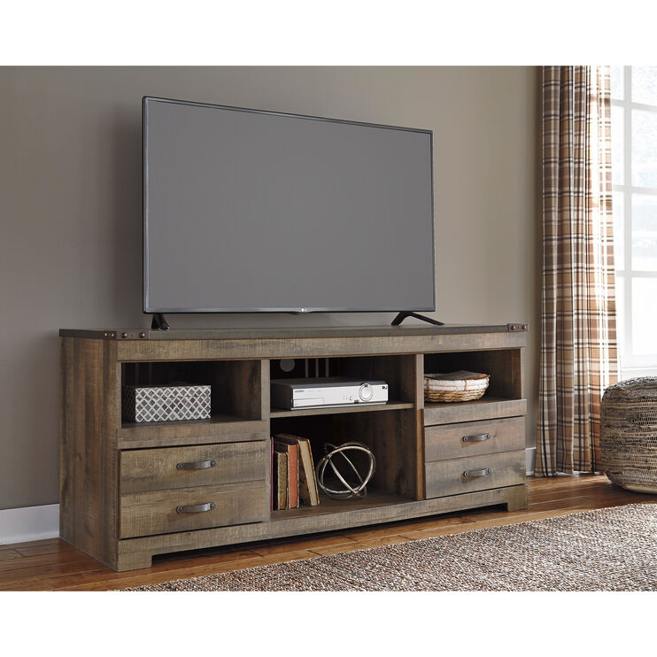 Trinell Brown 63 Inch TV Stand