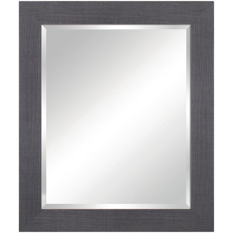 Rustic Gray Vanity Mirror