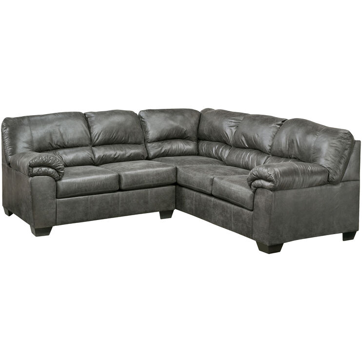 Redmond 2Pc Slate Sectional