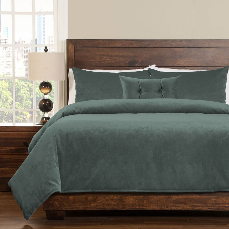 Padma 5 Piece Lagoon Queen Duvet Set