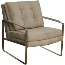 Rise Gray Accent Chair