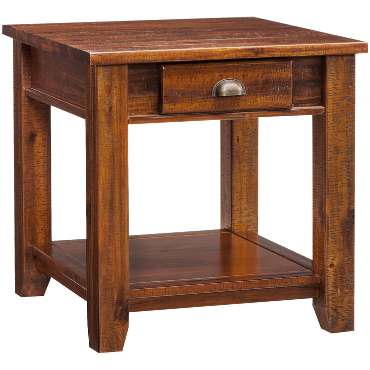 Urban Lodge Brown End Table