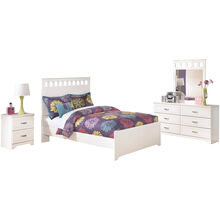 Lulu White 4 Piece Room Package