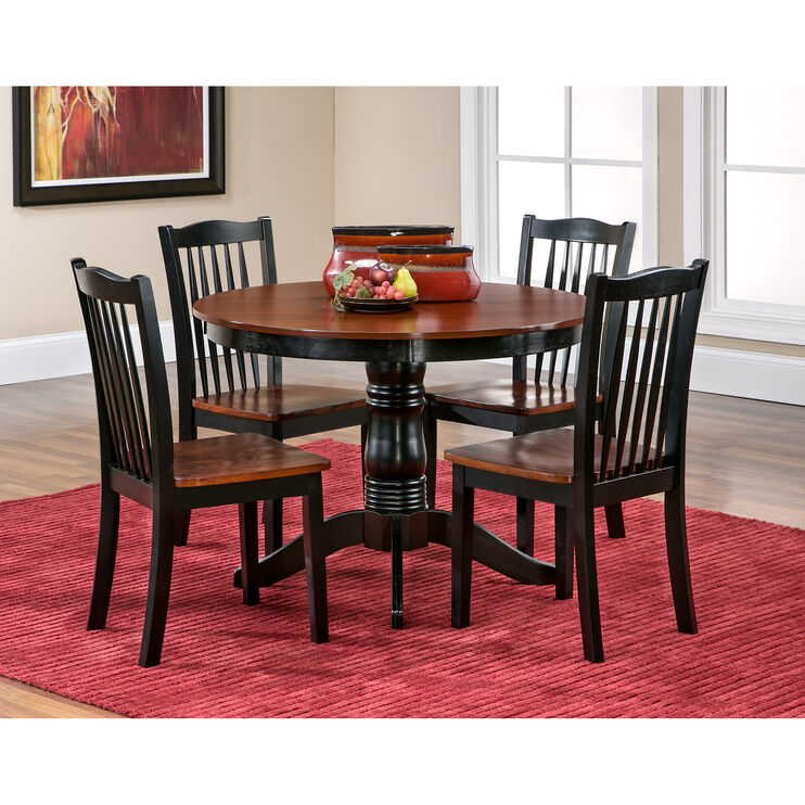 Devon Black Dining Set