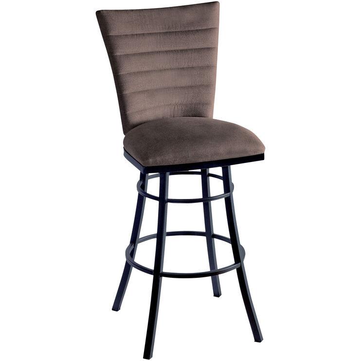 Slumberland Furniture Blake Brown 30 Inch Counter Stool
