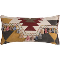 Aztec Tassel Oblong Down Pillow