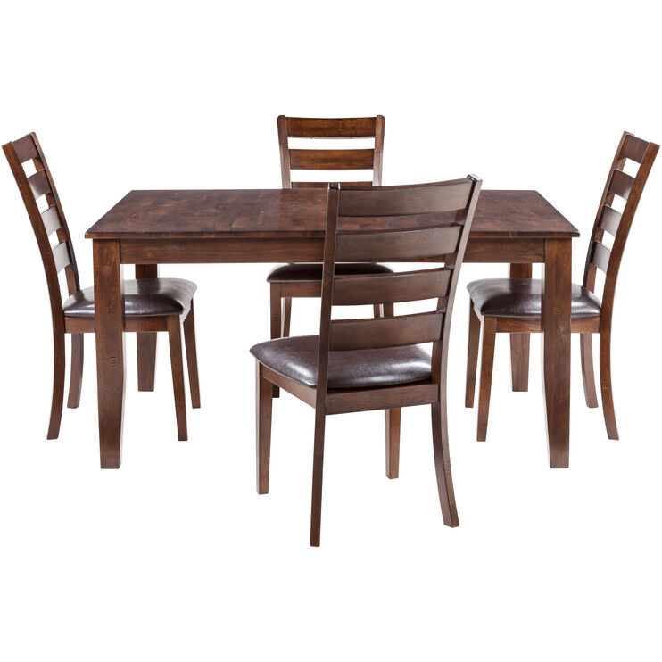 Kona 5 Piece Raisin Ladder Dining Set
