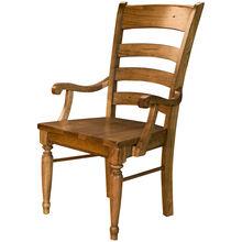 Bennett Smokey Quartz Arm Chair