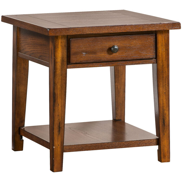 Slumberland Furniture Clay County End Table