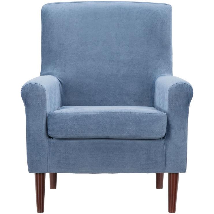 Ellis Navy Accent Chair
