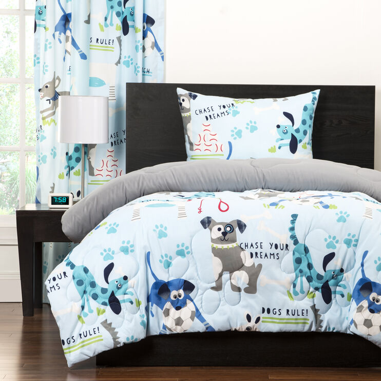 Crayola Chase Your Dreams 3 Piece Full or Queen Comforter Set