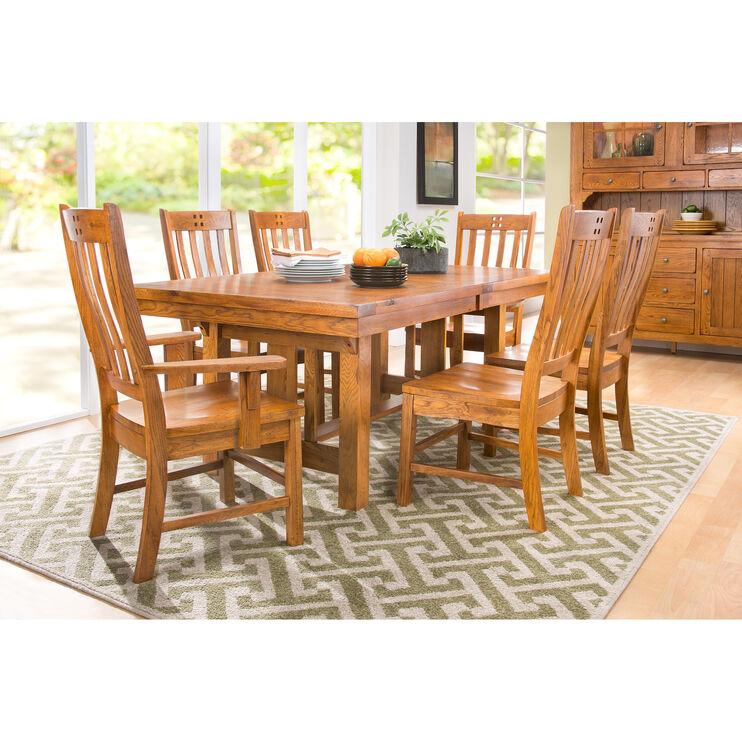 Slumberland Furniture Keepsakes 7 Piece Dining Set