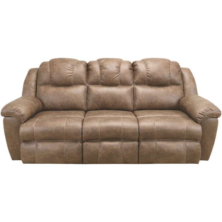 Rufford Tan Power Reclining Sofa