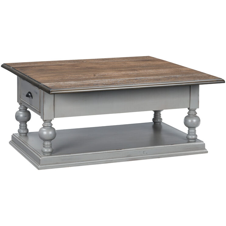 Colonnades Drop Leaf Coffee Table