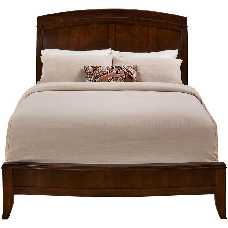 Brighton Cinnamon Queen Bed