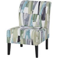 Triptis Multi-Colored Accent Chair