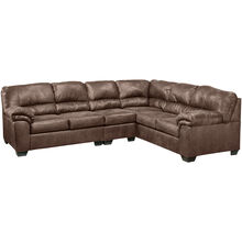 Redmond 3 Piece Coffee Sectional