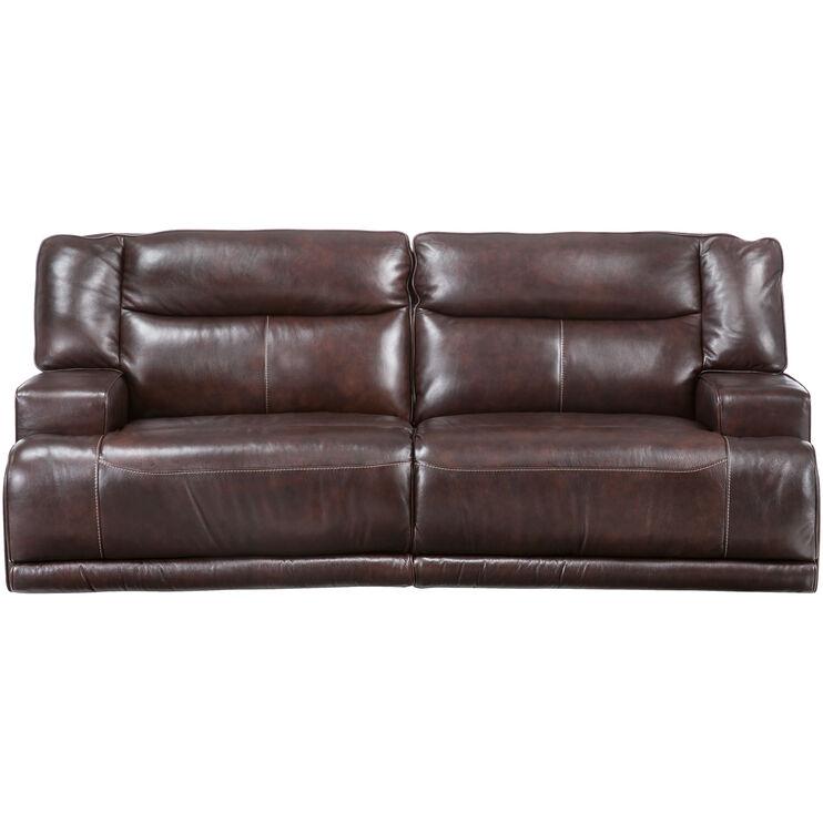 Tompkins Brown Power Reclining Sofa