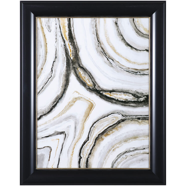 Shades of Gray II Framed Art